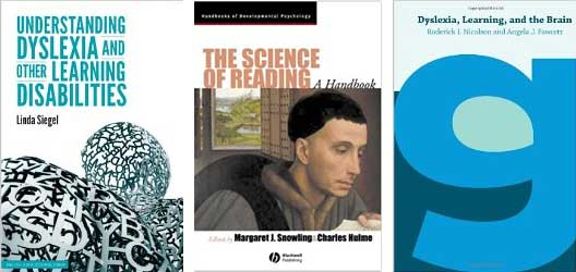 Covers of the three course text books